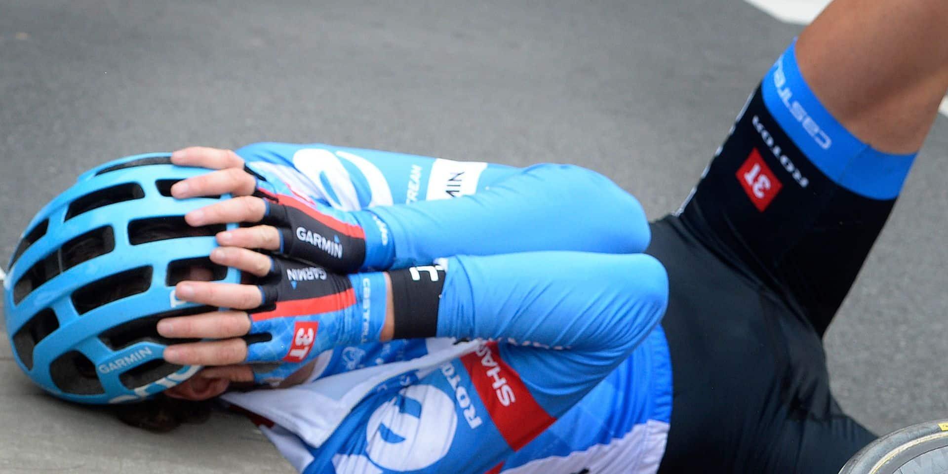 Sept ans plus tard, la spectatrice violemment percutée par Vansummeren au Tour des Flandres est reconnue responsable (VIDEO)