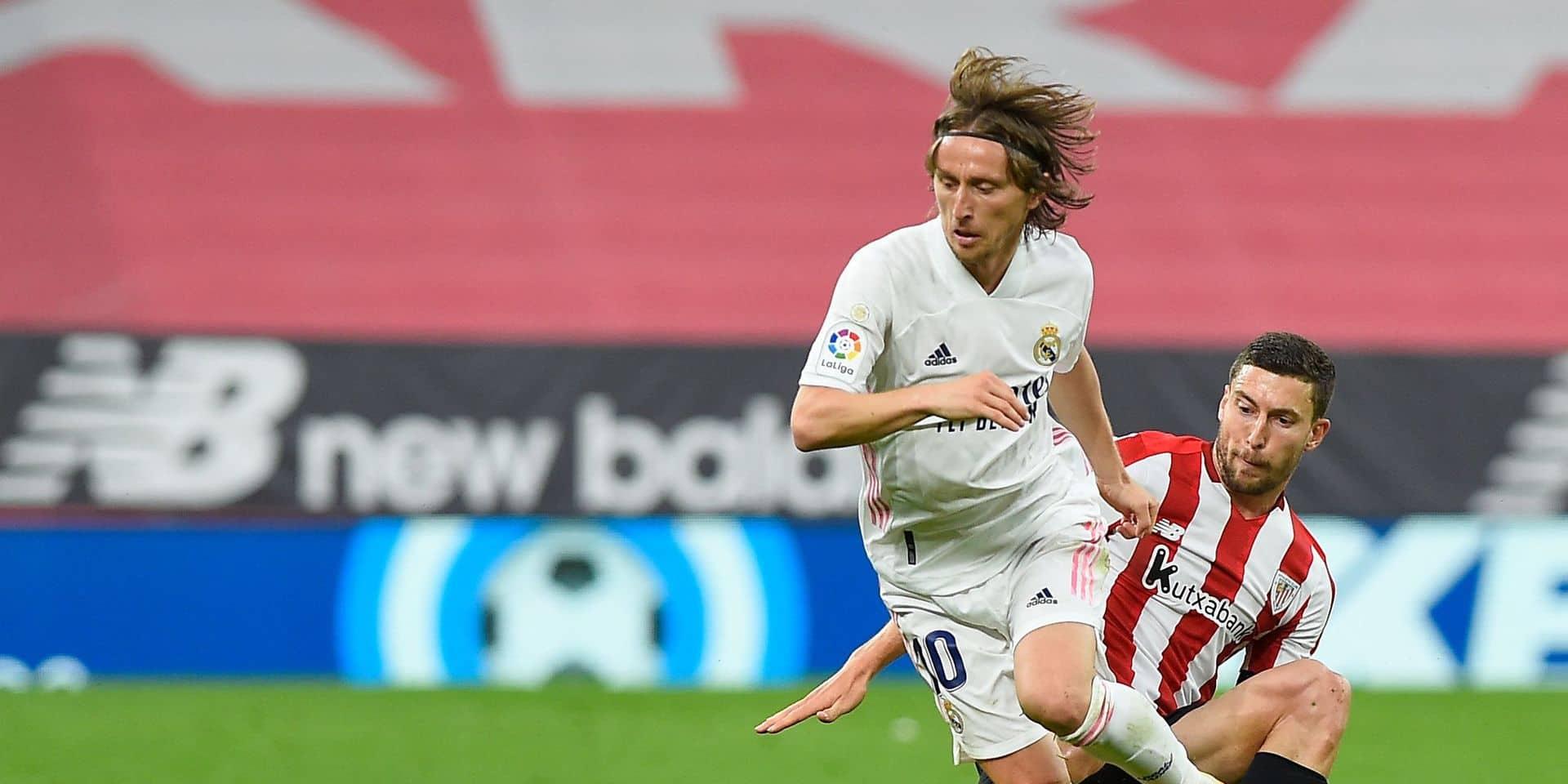 Luka Modric prolonge au Real jusqu'en 2022