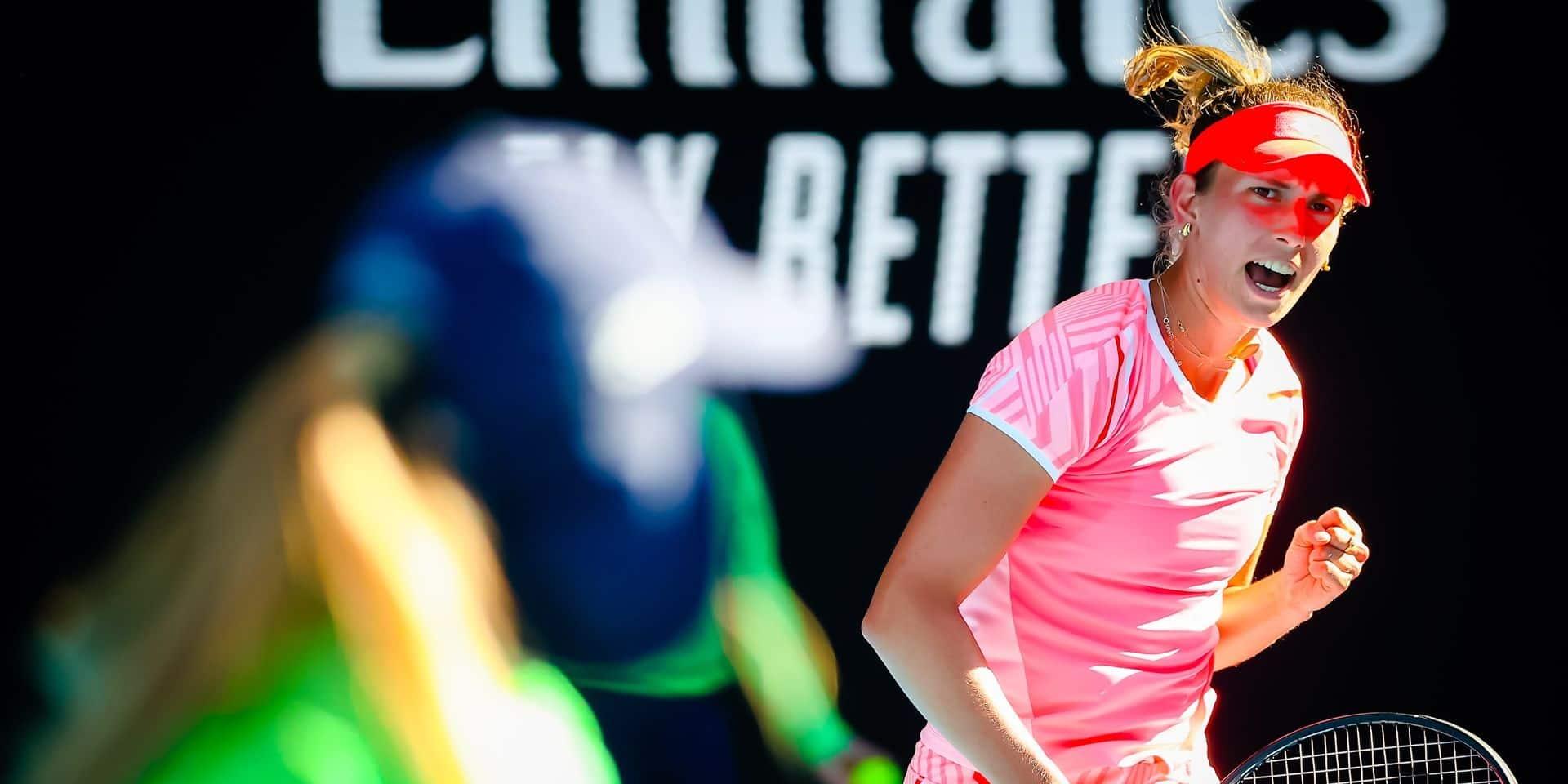 WTA Dubaï: Elise Mertens effectue son retour face à la Française Fiona Ferro