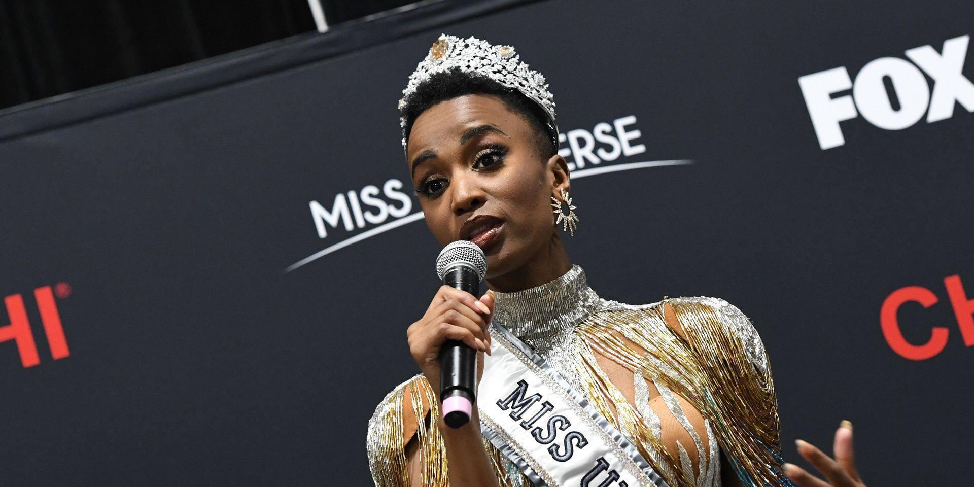 Qui est Zozibini Tunzi, nouvelle Miss Univers loin des clichés habituels ?