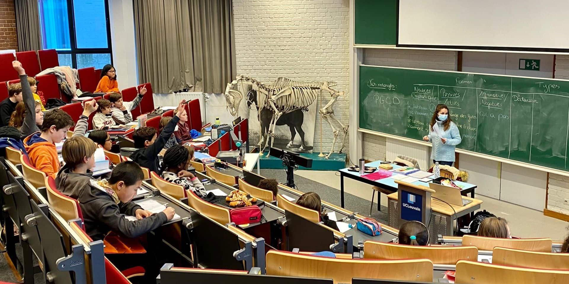 Panne de chauffage au collège du Biéreau: les élèves ont apprécié leur première journée en auditoire