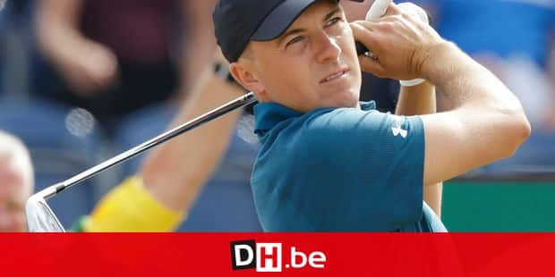 Jordan Spieth of the US plays a shot off the 3rd tee during the third round of the British Open Golf Championship in Carnoustie, Scotland, Saturday July 21, 2018. (AP Photo/Martin Cleaver)