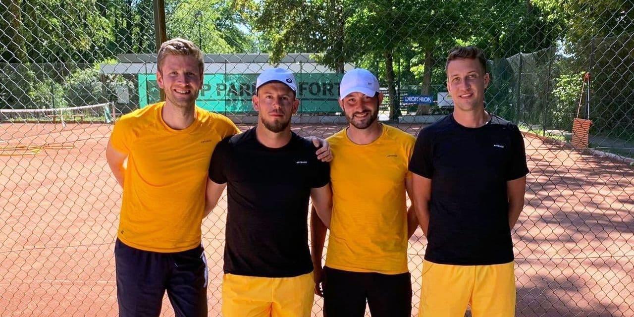 Les interclubs de tennis avaient manqué… aux footeux !