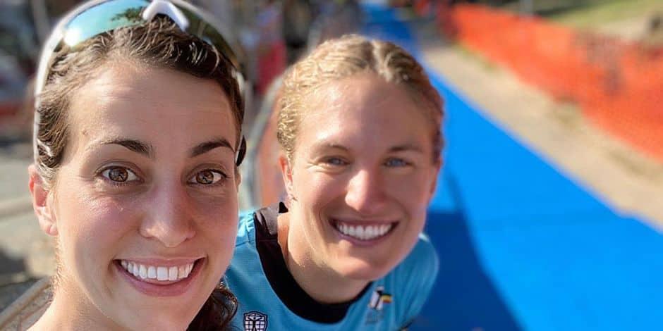 Triathlon : inséparables et ambitieuses, Claire Michel et Valerie Barthelemy !