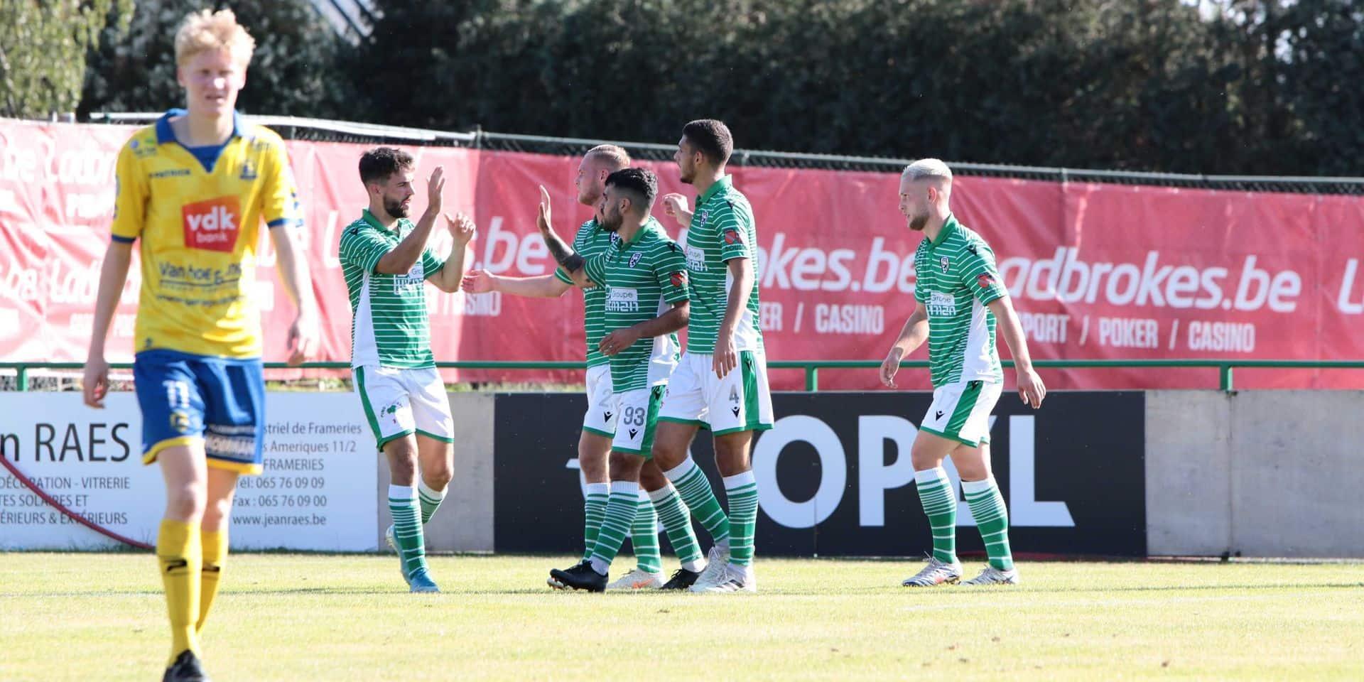 À neuf contre dix, le RFB s'impose malgré tout en Coupe de Belgique