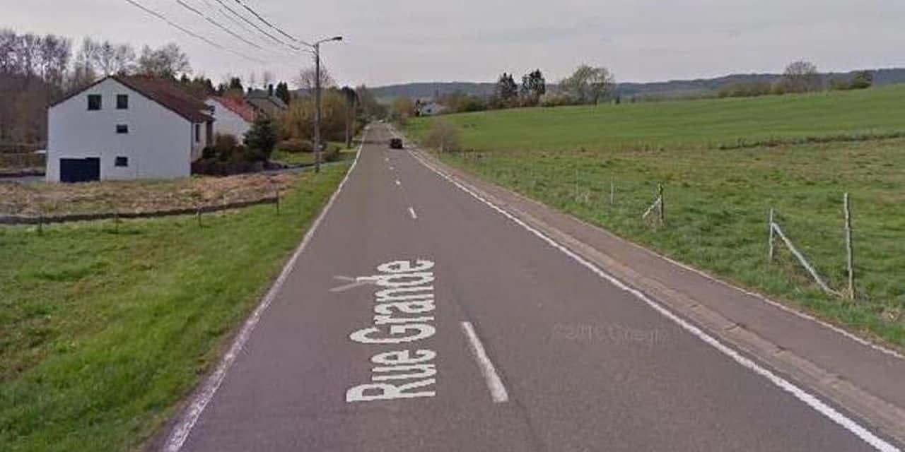 Sortie de route à Bleid (Virton) : un blessé léger