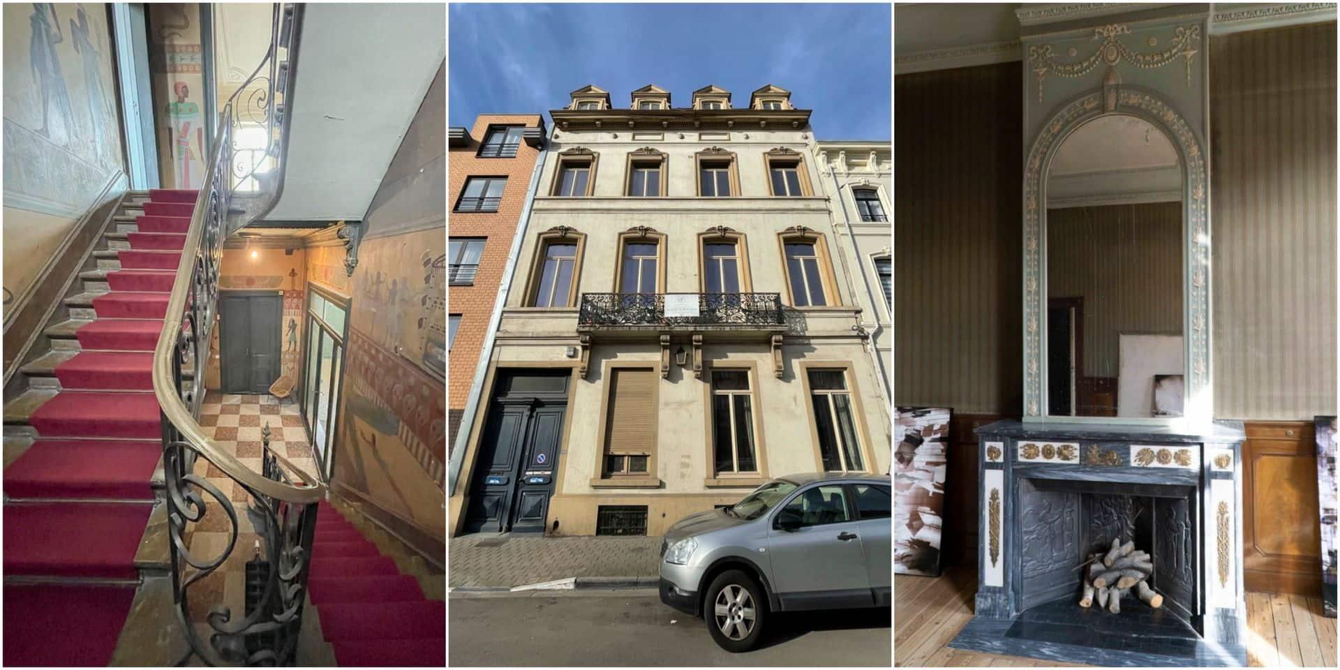 """L'ancien hôtel de maître d'Emile Bockstael définitivement classé :""""Ce bâtiment est méconnu, son intérieur est pourtant extraordinaire"""""""