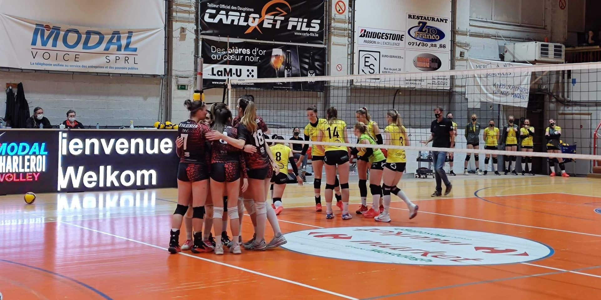 Volley Ligue A: Charleroi a loupé le coche