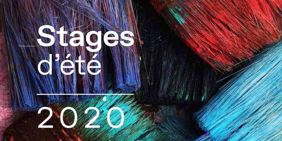 Service de la culture de la province de Namur: les stages de l'été 2020