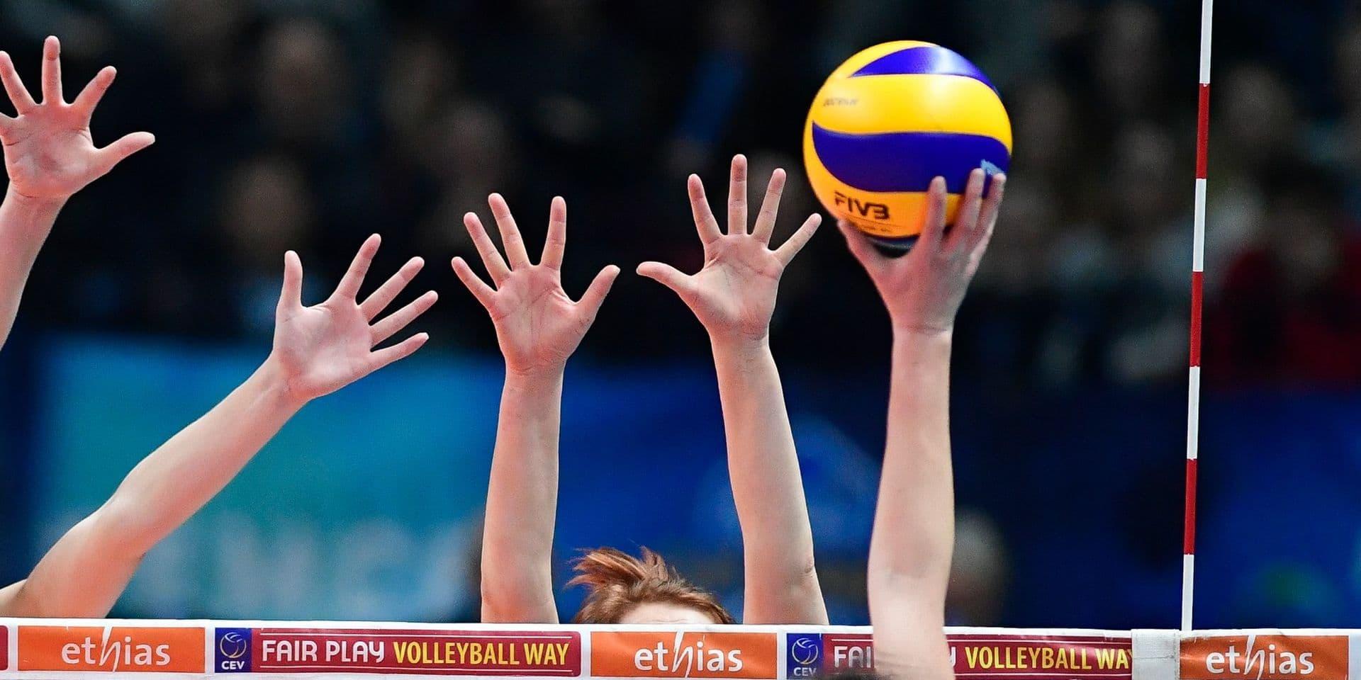 """Volley Hainaut: """"Avec nos différents plans, nous avons voulu rassurer les clubs"""""""