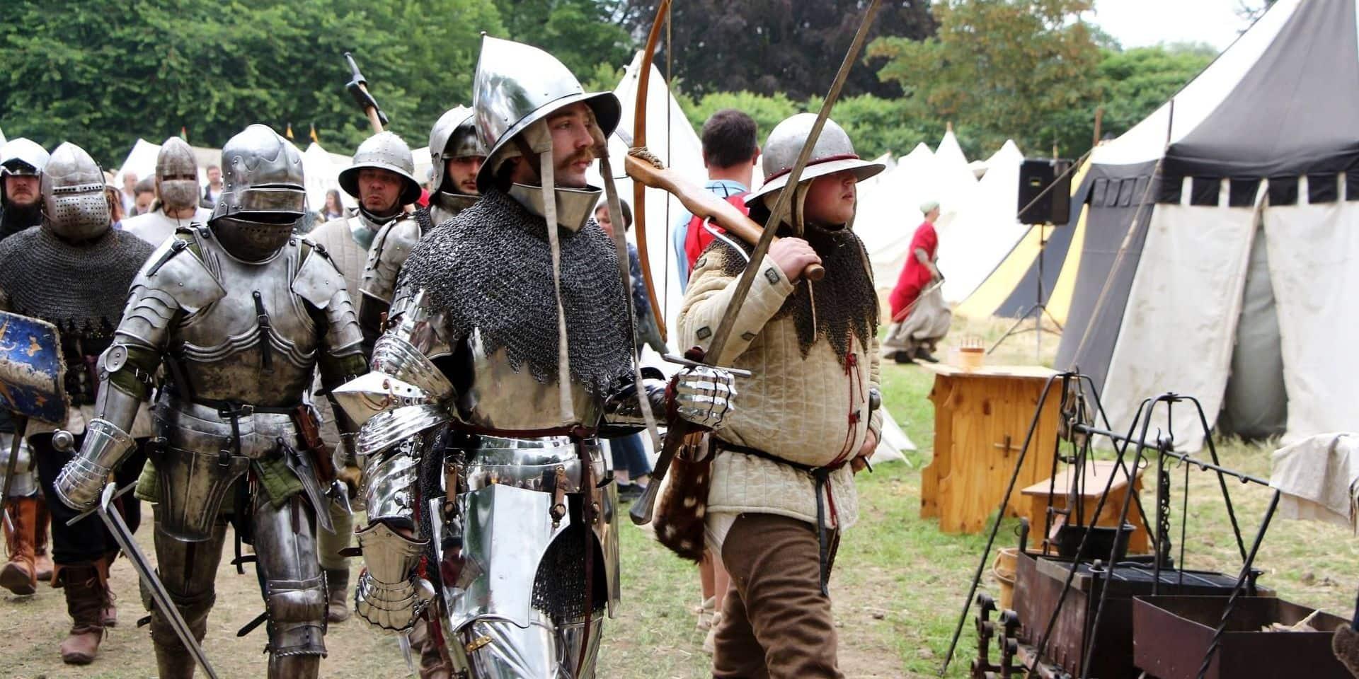 Retour au Moyen-Âge dans le château de Feluy
