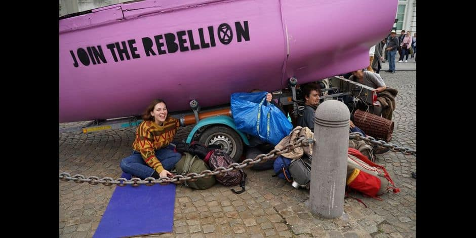 Extinction Rebellion prévoit une nouvelle action sur la Grand-Place de Bruxelles