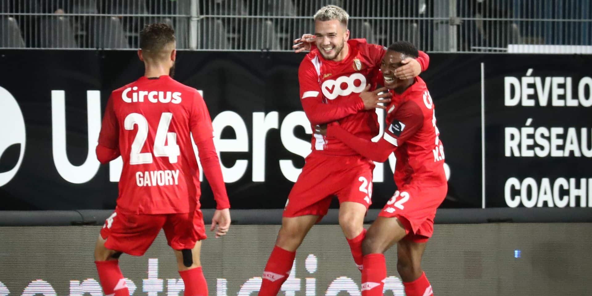 Charleroi-Standard: Nicolas Raskin a rayonné au Pays Noir
