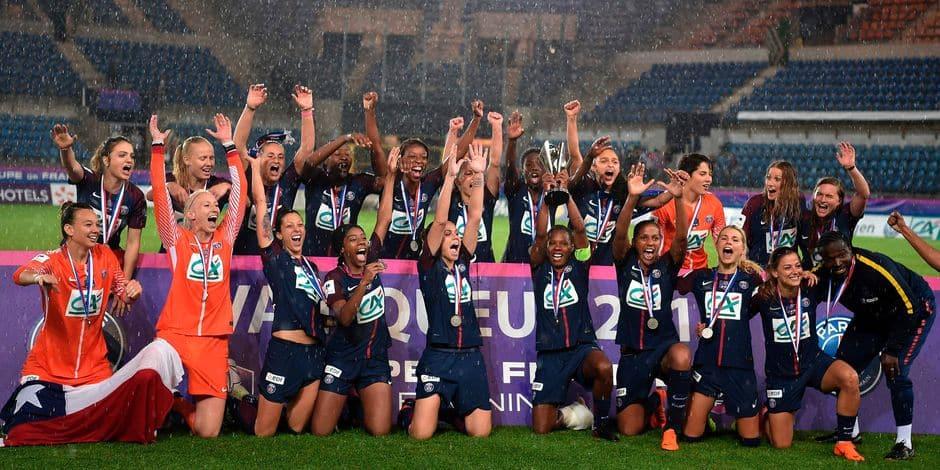 La finale de la Coupe de France féminine interrompue par l'orage
