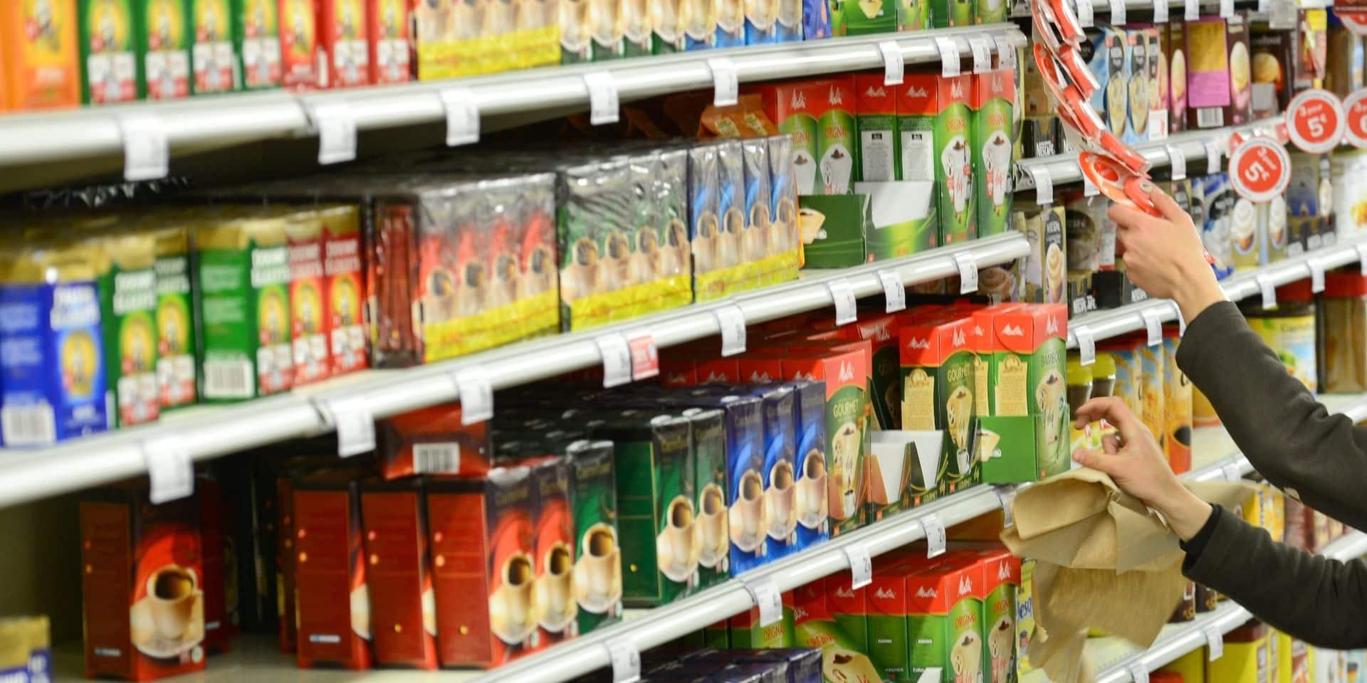 Depuis la fin du confinement, les Belges font moins souvent leurs courses