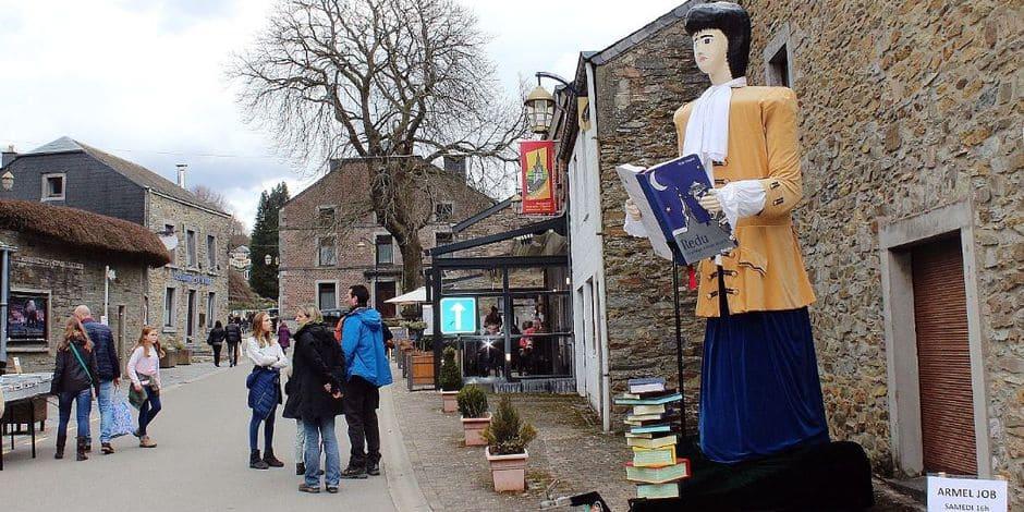 J'aime ma commune / Libin : festif, le village du livre de Redu
