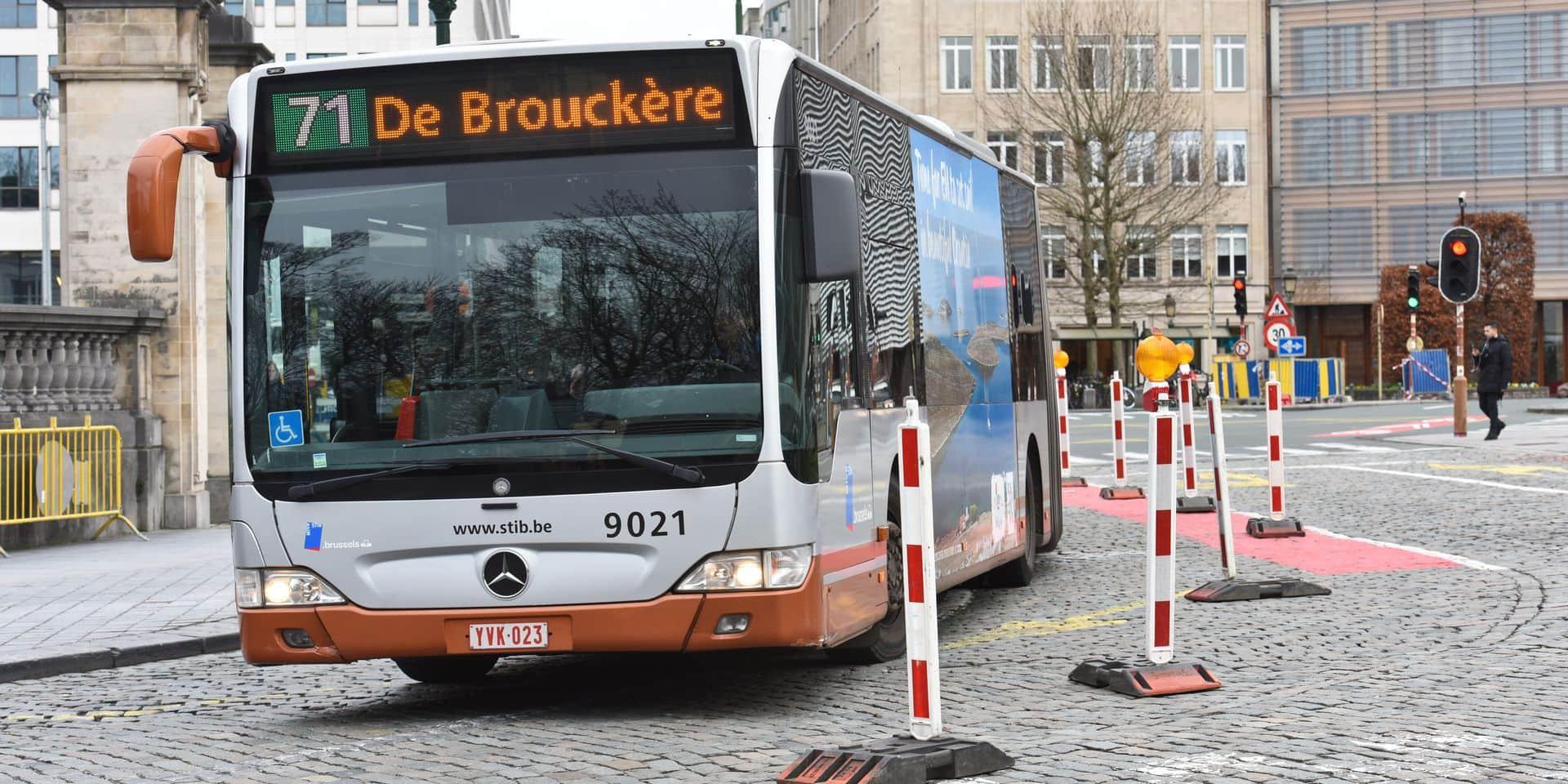 Stib : 47 chauffeurs de bus portent plainte contre leur direction