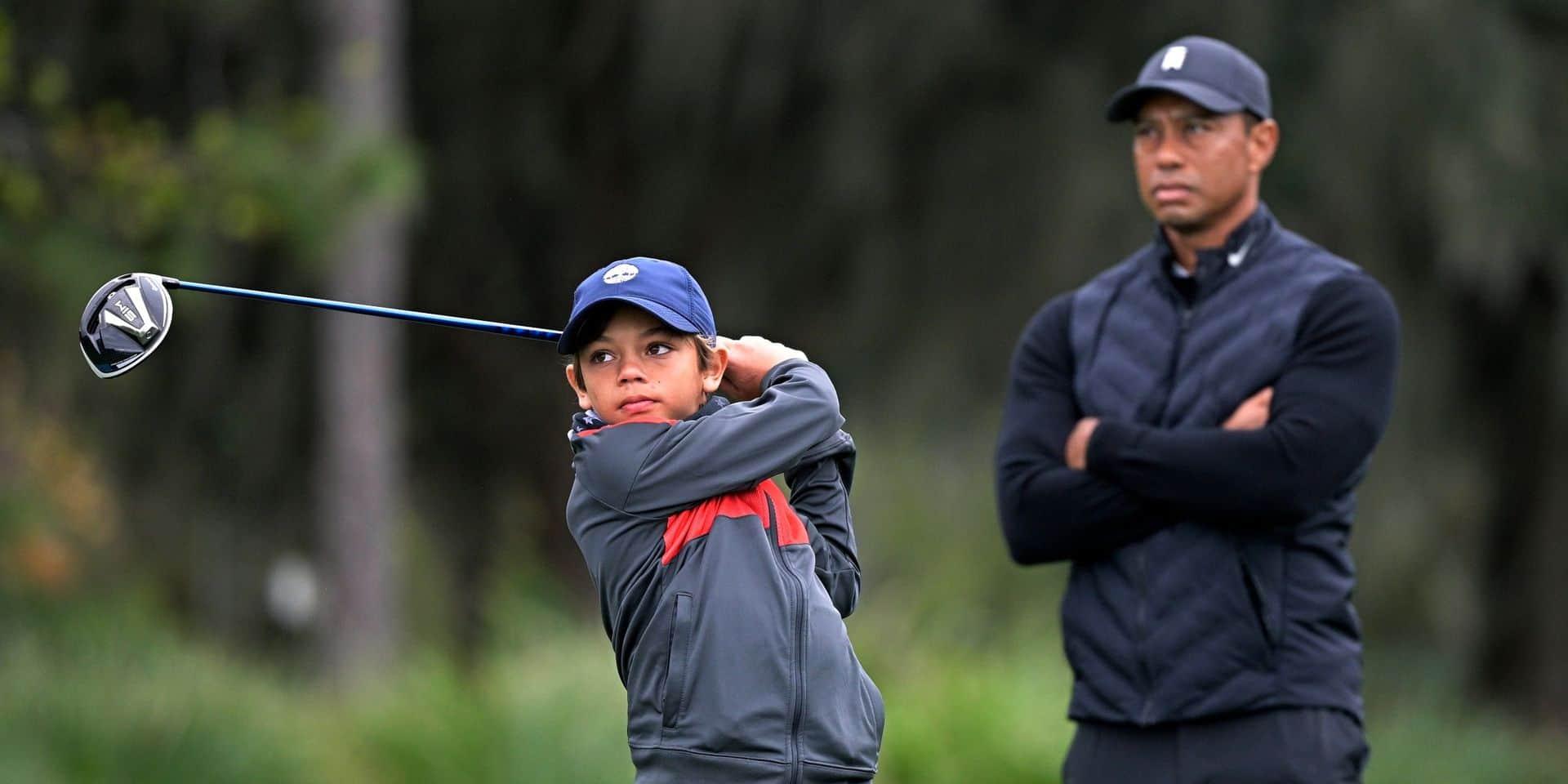 Papa Tiger fait équipe avec son fils Charlie !